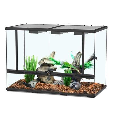 Aquatlantis Smart Line Terrarium zwart 88 x 45 x 60 cm