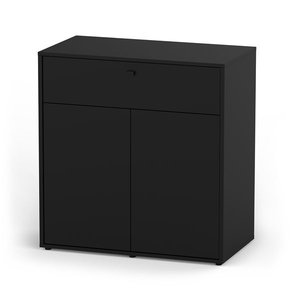 Aquatlantis Terrarium Meubel zwart 88 x 45 cm