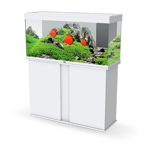 Aquarium Emotions Pro 120 wit met meubel