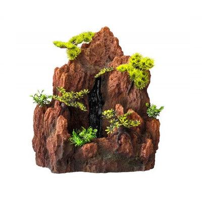 Aqua Della Aquarium Decoratie Waterfall Red Rock