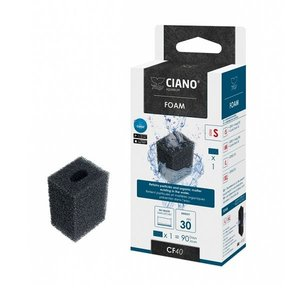 Ciano Foam Small zwart CF40