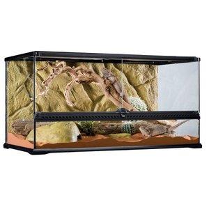 Exo Terra Glas Terrarium incl. achterwand 90x45x45