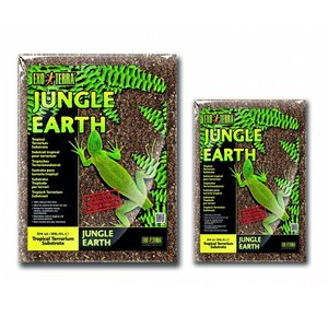 Exo Terra Terrarium Substraat Jungle Earth