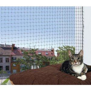 Trixie Bescherm Net voor Balkon zwart