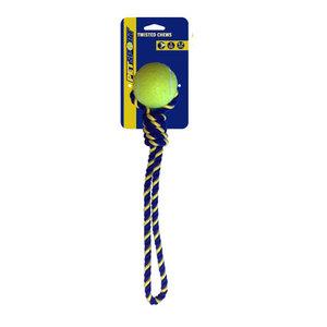 PetSport USA Katoenen Speeltouw met bal