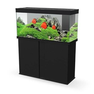 Ciano Aquarium Emotions Pro 120 zwart met meubel