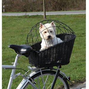 Trixie Fietsmand Zwart Hond tot 12 kg
