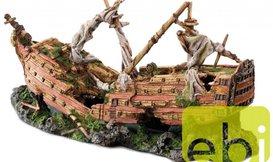 Aquarium Decoratie Groot Schip Kopen