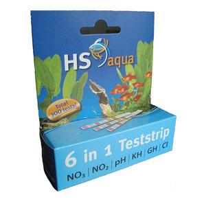 HS Aqua Teststrips 6 in 1