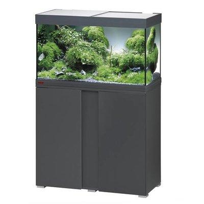 Eheim Aquarium Set Vivaline 126 LED grijs/eiken