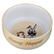 Trixie Honey & Hopper Keramische voer/waterbak