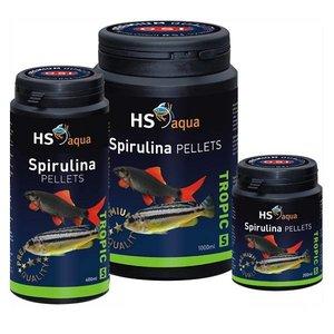 HS Aqua Spirulina Pellets voor klein tot middelgrote vis