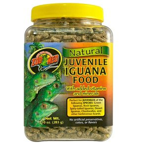 ZooMed Jonge Leguanen Voeding