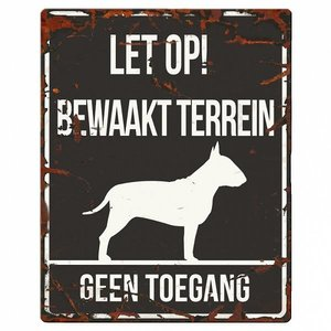 D&D Waakbord Bull Terrier