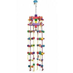 Duvo+ Vogelspeelgoed Carrouseltouw met blokjes
