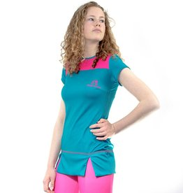 MUD CHICK MUD CHICK Manon Dress Magenta-Blue