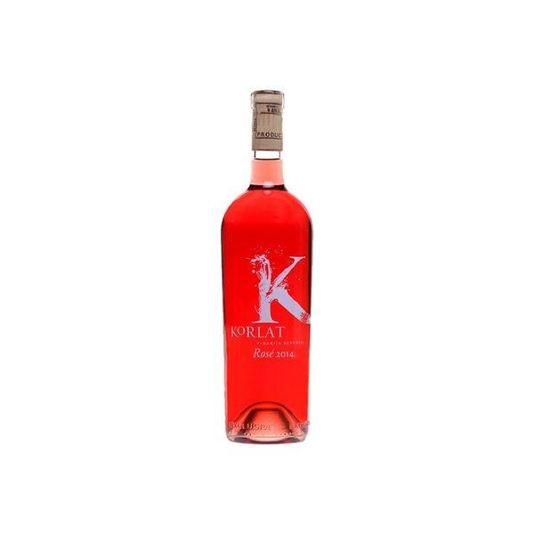 Een van de beste rosé van Kroatië! Geselecteerd als topselectie PERSWIJN 2015 - Met 5 sterren bekroond!