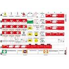 FÜsYS Standard-Set 60 Taktische Zeichen inkl. Abschnittsbeschriftungen