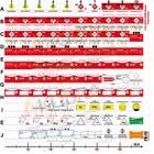 FÜsYS Basis-Set Feuerwehr 100 Taktische Zeichen