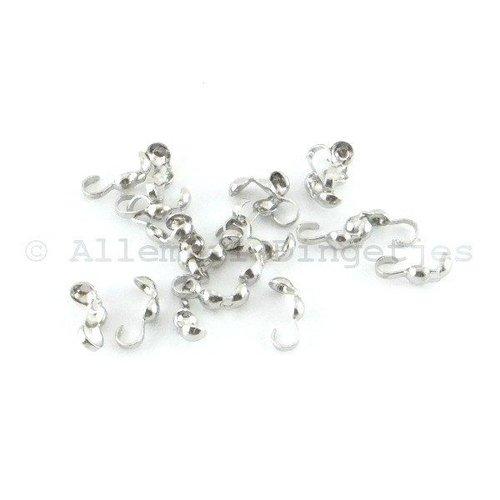 Kalotjes zilverkleurig (20 st)