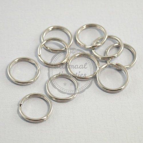 Sleutelringen 15mm (10 st)