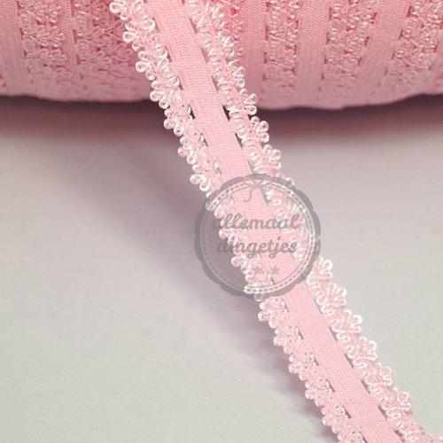 Haarband elastiek Kanten randje