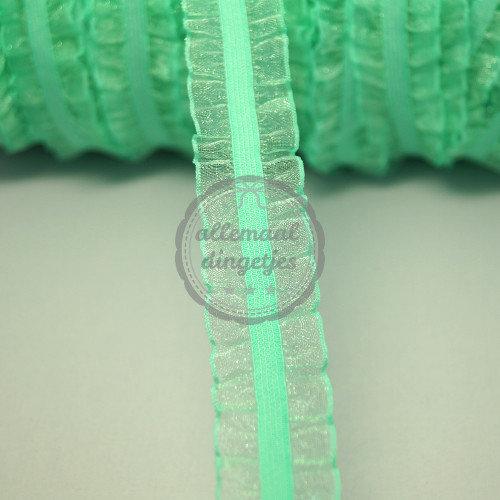 Haarband elastiek Organza