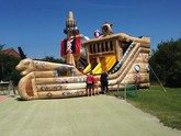 """Piratenschiff"", 14m x 5 m x 6 m , XXL-Fun-Modul"
