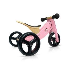 Kinderfeets 2 in 1 - Loopfiets - Roze - Tiny Tot