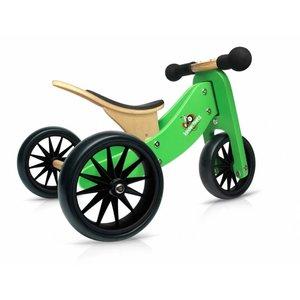 Kinderfeets 2 in 1 - Loopfiets - Groen - Tiny Tot