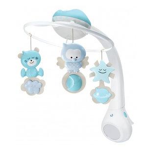 B-Kids Mobiel 3 in 1 Incl projector Blauw