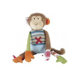Sigikid Aap - Sweety - Patchwork (35cm)