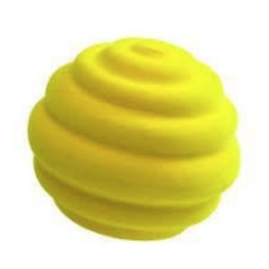 Rubbabu Top Ball Geel (10cm)