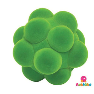 Rubbabu Bubbelbal Groen (10cm)