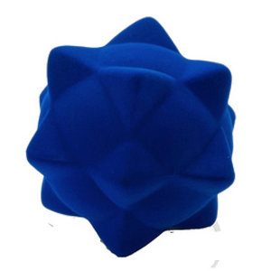 Rubbabu Stekelbal Blauw (10cm)