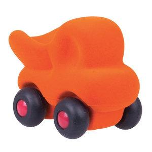 Rubbabu Micro Cleanupper Dumptruck Oranje (9cm)