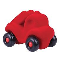 Rubbabu Rode brandweer auto (12cm)