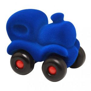 Rubbabu Donkerblauwe trein (12cm)