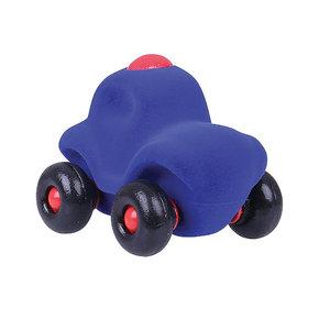 Rubbabu Blauwe politiewagen (11cm)