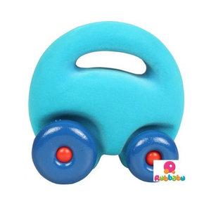 Rubbabu Mascot auto turquoise (12cm)