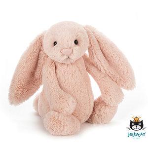 Jellycat Bashful Bunny Blush (Oud roze) (31 cm) Medium