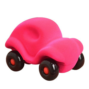 Rubbabu The Little Rubbabu Car - Roze (12cm)