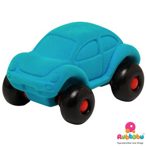 Rubbabu The Little VW Beetle (12cm) - Turquoise