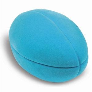 Rubbabu Sport bal - Football - Turquoise (10cm)
