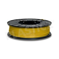 PLA Traffic Geel / Yellow: RAL 1023, PLA, 1.75 / 2.85 mm, 1.000 grams (1 kg) Plasticz