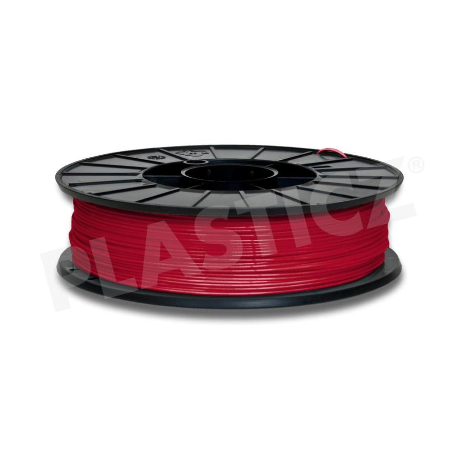 PLA Traffic Rood / Red: RAL 3020, 1.75 / 2.85 mm 1.000 grams (1 KG) Plasticz