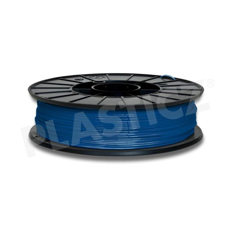 PLA Traffic Blue / Blauw: RAL 5017, 1.75 / 2.85 mm, 1.000 grams (1 KG) Plasticz-1