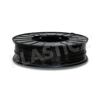 PLA Traffic Black / Zwart: RAL 9017, 1.75 / 2.85 mm PLA, 1.000 grams (1 KG) Plasticz