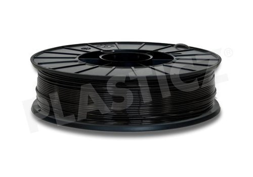 PLA Traffic Black / Zwart: RAL 9017, PLA, 1.75 / 2.85 mm, 1.000 grams (1 KG) Plasticz