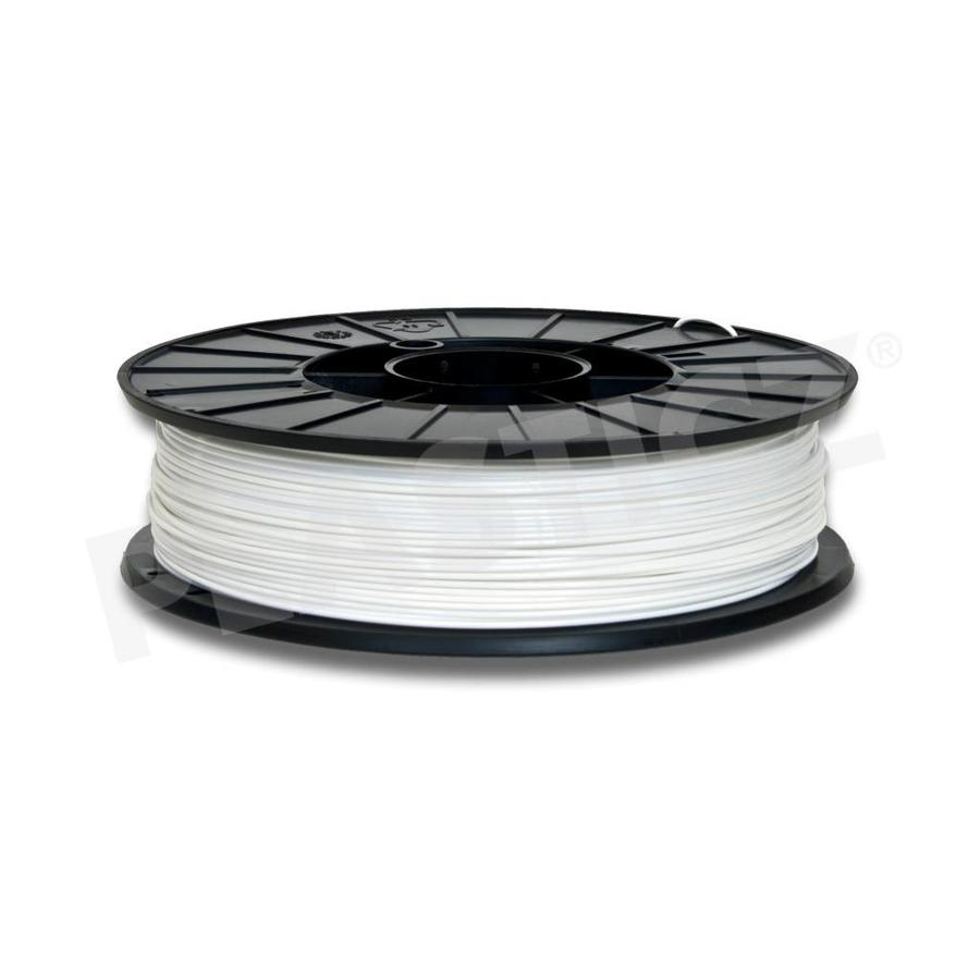 PLA Traffic White / Wit: RAL 9016, 1.75 / 2.85 mm PLA, 1.000 grams (1 KG) Plasticz-1